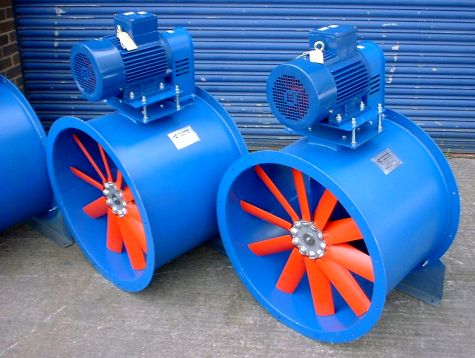 No.710 Belt Driven Axial Fans